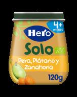 Tarritos Solo de Pera, Plátano y Zanahoria